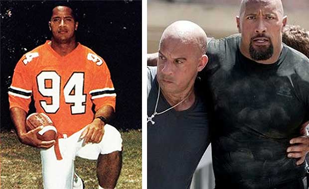 athletes turned actors