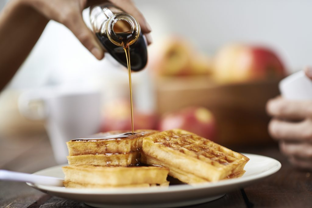 foods not to refrigerate- maple syrup