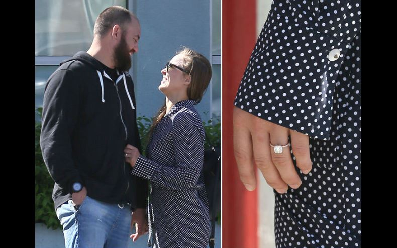 Ronda Rousey got engaged