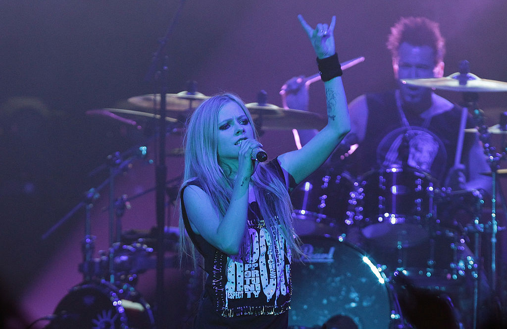 Avril Lavigne In Seoul