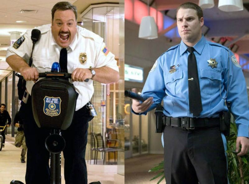 Paul Blart Mall Cop Observe and Report Twin Movies
