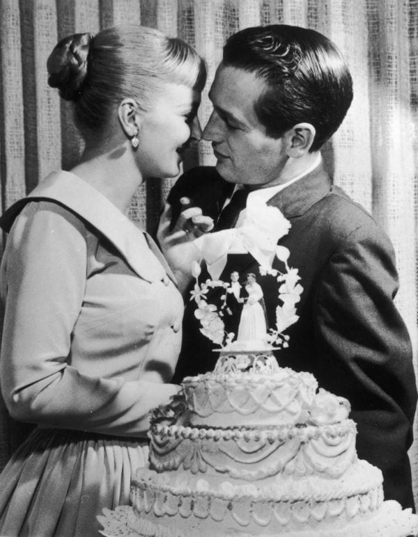 paul newman joanne woodward wedding las vegas