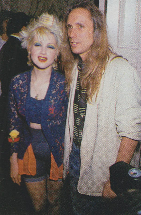 cyndi lauper and david wolff, time after time songs