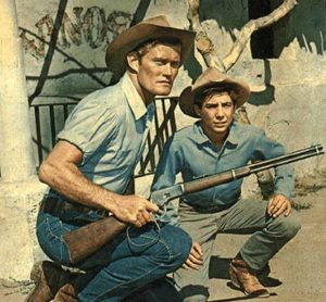 the rifleman chuck connors and johnny crawford