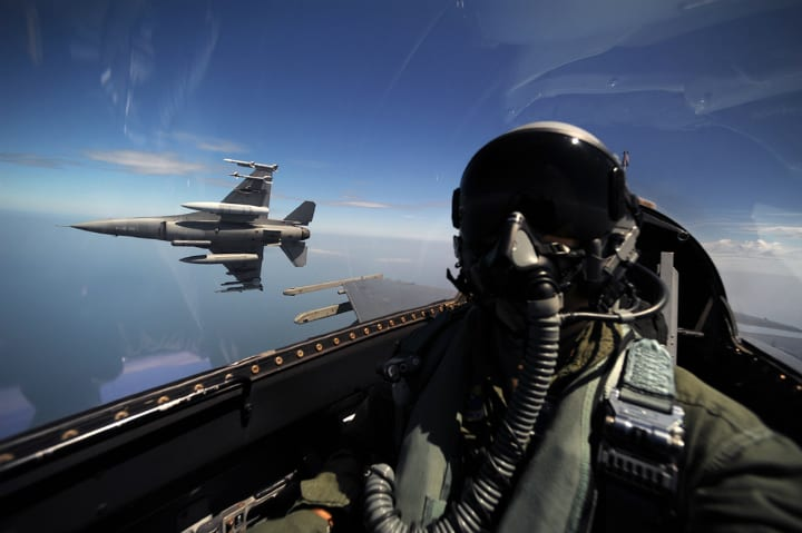 US Army Military Training - Air Force Pilot Training