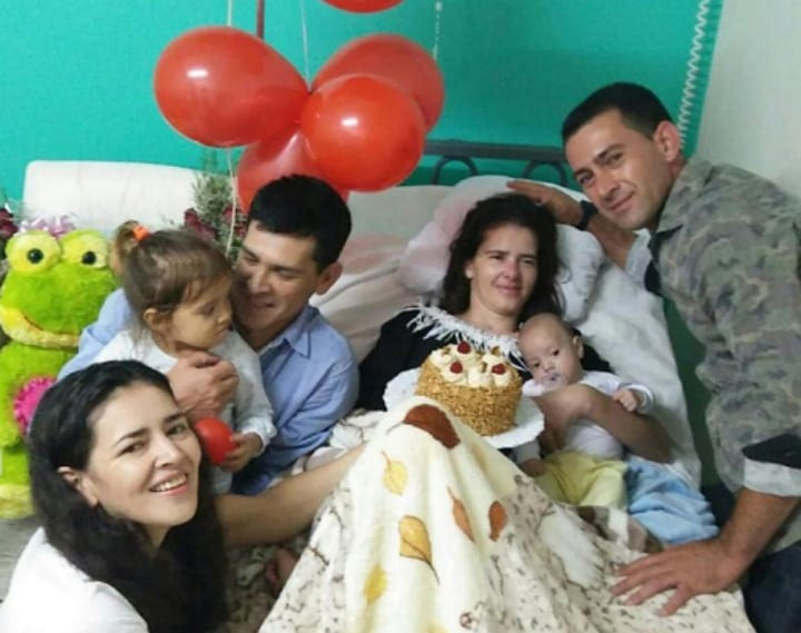 Sandito's First Birthday - Pregnancy Miracle/Pregnant Woman