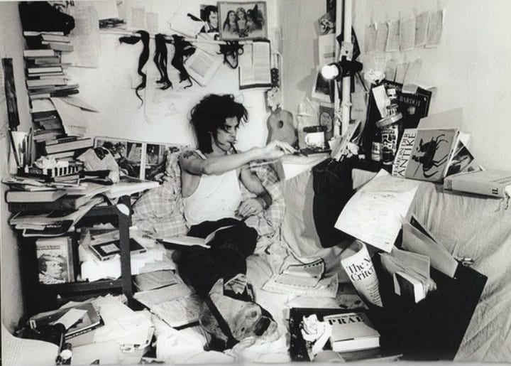 Nick Cave at Work - Rock and Roll Photos of Musicians