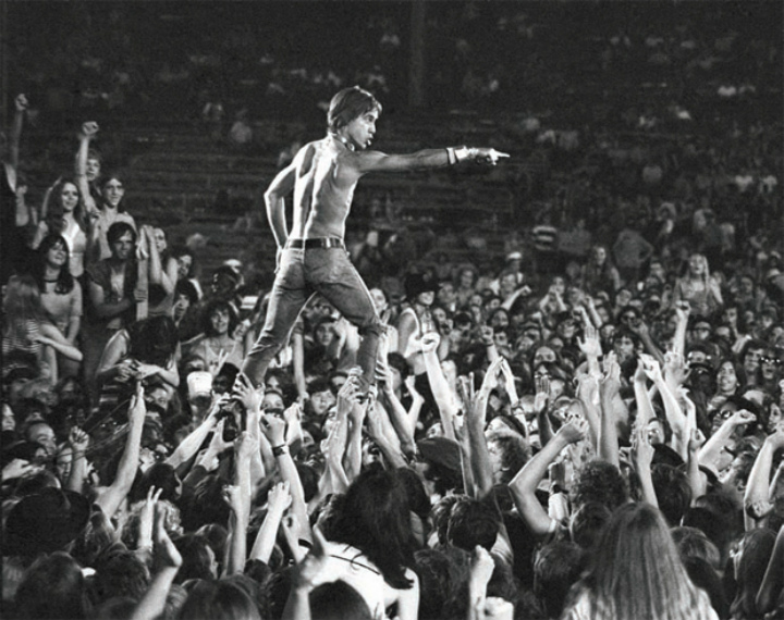 Iggy Pop - Rock and Roll Photos of Musicians