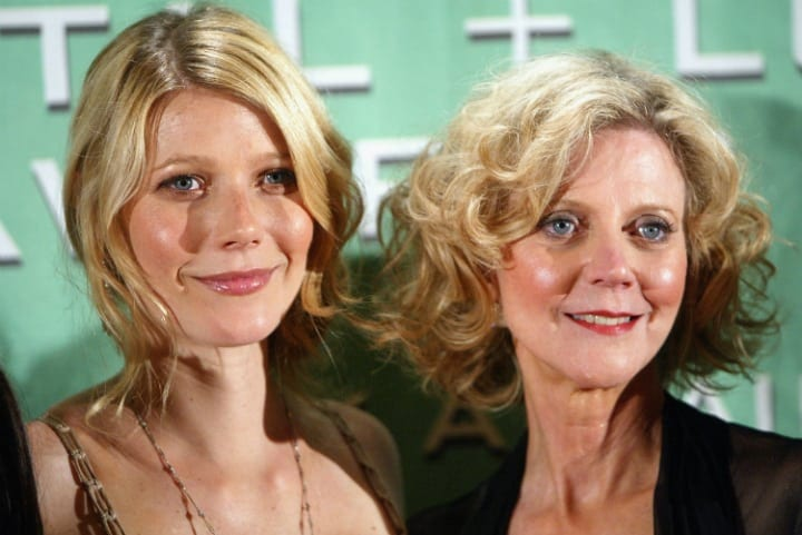 Celebrity Look Alikes - Blythe Danner and Gwyneth Paltrow
