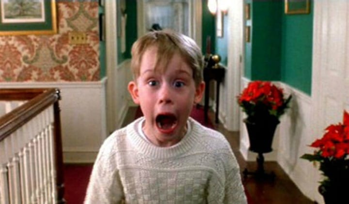 Kevin McCallister Filmed at Different Angles - Home Alone