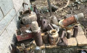 Buried Artifacts from the 1940s