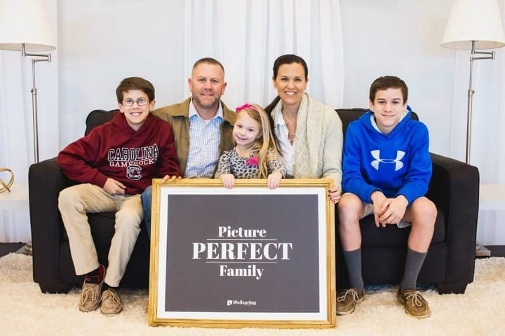 Picture Perfect Family - The Haddens