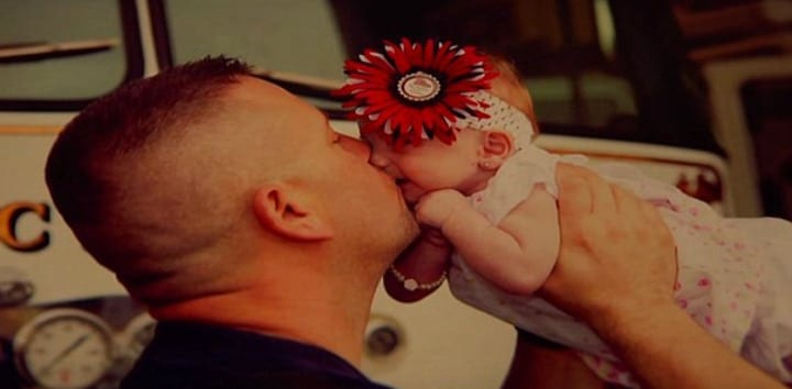Marc Hadden Embraces His New Adopted Daughter Gracie