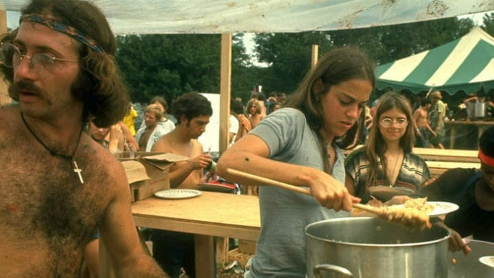 Woodstock Concertgoers Came Together to Feed Everyone