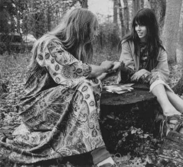 Palm Reading at Woodstock
