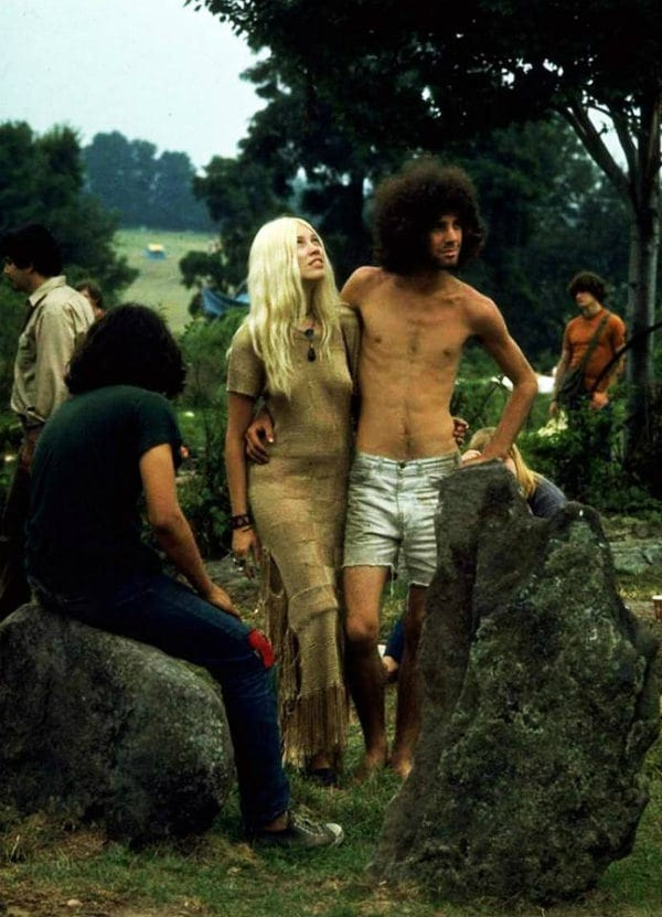 Couple Taking Photo Opts at Woodstock