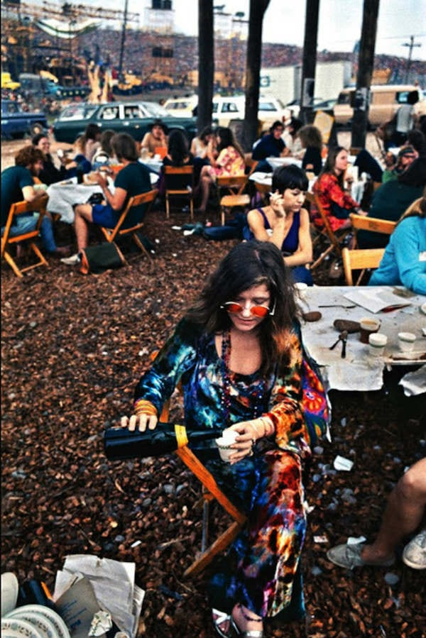 Janis Joplin's Colorful Outfit at Woodstock