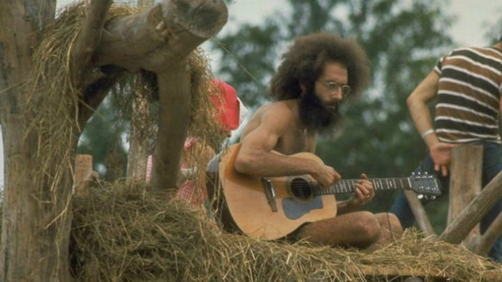 Zero Reports of Violence at Woodstock