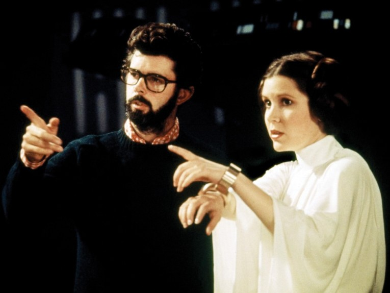 star-wars-george-lucas-carrie-fisher